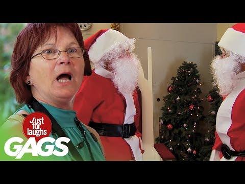 Não paro de rir com essas pegadinhas de Natal!