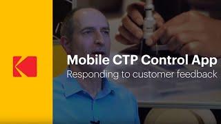 KODAK Service & Support - CTP Mobile App