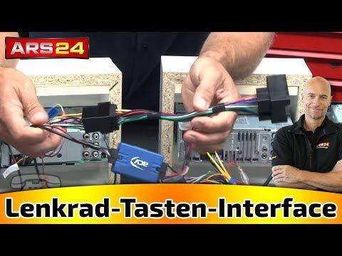 Lenkrad-Tasten-Interface für alle Autos für nachgerüstete Autoradios || Tutorial || ARS24.COM