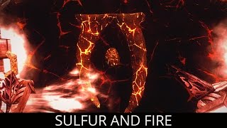 TERRIFIC NEW LAND! Skyrim Mods - Sulfur and Fire - Trial of Mehrunes Dagon.