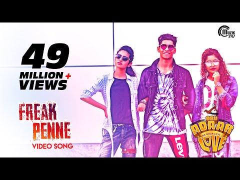 Oru Adaar Love Freak Penne Rap Song Priya Varrier Roshan Noorin Shereef Shaan Rahman Omar Lulu