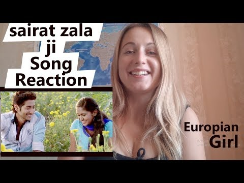 Sairat Zaala Ji Song Reaction By Foreign Girl | Ukrainian Girl