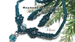 MACRAME NECKLACE - MYOW 164