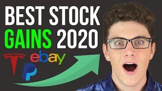 5 Best Performing Stocks of 2020 (HUGE GAINS!)