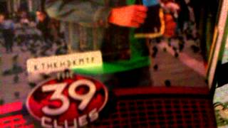 the 39 clues: first game card pack unboxing
