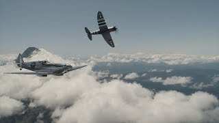video: Silver Spitfire pilot log week five: water salute welcome in Canada