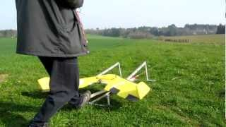 1ER VOL CATAPULTE MAXI SWIFT + CRASH....