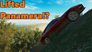 Forza Horizon 3 LIFTED, Off-Road Porsche Panamera!
