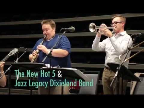 The New Hot 5 & Jazz Legacy Dixieland Band sneak peek - LIVE in-studio on H89