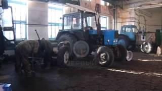 Плановый ремонт. В хозяйствах области восстанавливают технику к предстоящей посевной.