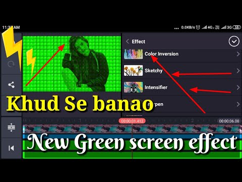 Download How To Make Trending Green Screen Effect By
