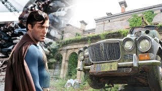 Abandoned SUPERMAN Millionaires Mansion With Car Graveyard
