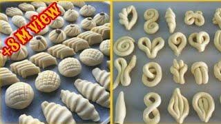افكار جديدة \ اشكال #معجنات ستجعلك اميرة مميزفي المطبخ New ideas how to make your pastry |English