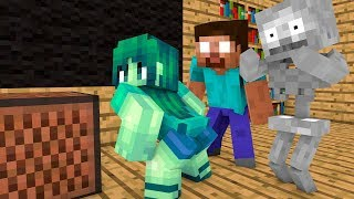 ✅ Monster School : The Mobs Caught the Teacher Dancing in  Classroom Challenge - Minecraft Animation