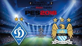 Dynamo Kiew – Manchester City | CHAMPIONS LEAGUE - Achtelfinale | PES 2016 | TTV [HD | GER]