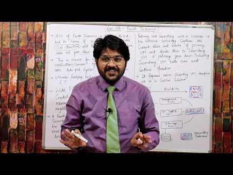 VMware Fault Tolerance-Hindi/Urdu   Lec-06   VCP-DCV Tutorials