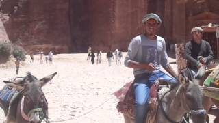 See the Caves, Donkeys and Camels in Petra, Jordan with Eva