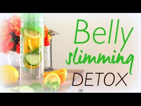Video Natural Belly Slimming Detox Water Recipe