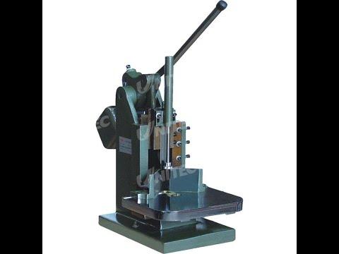 Manual Round Corner Cutting Machine