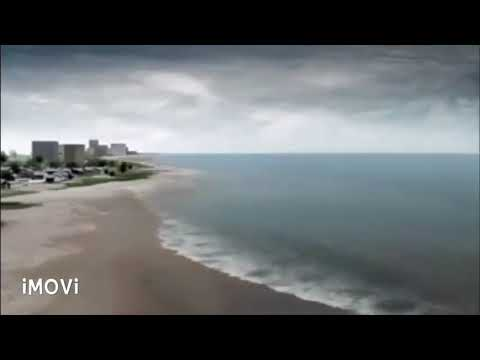 Unbelievable Tsunami Video footage published by NASA