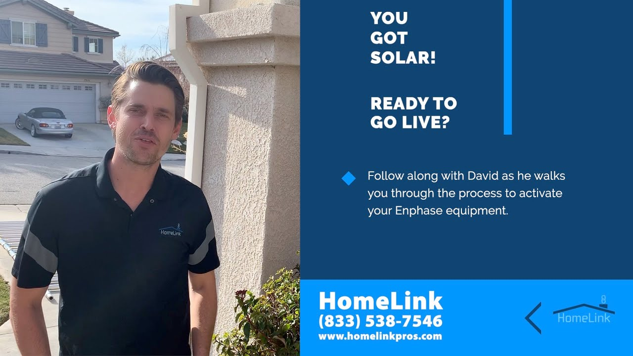 Solar Activation - Enphase