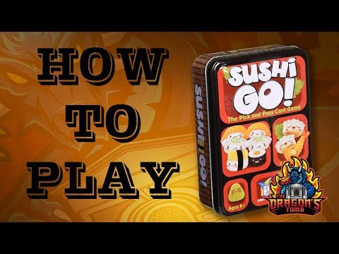 How To Play - Sushi Go!