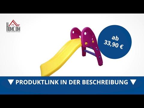 Homcom Kinderrutsche Spielzeug Slide Gartenrutsche Babyrutsche - direkt kaufen!