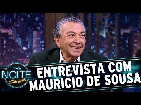 Entrevista com Mauricio de Sousa   The Noite (10/07/17)