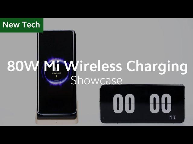 Новый 80-ваттный беспроводной адаптер Xiaomi заряжает смартфон за 19 минут