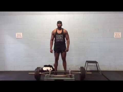 Lee Boyce Trap Bar Deficit Deadlift 400x6