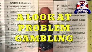A Look at Problem Gambling with Author and Certified Compulsive Gambling Counselor Arnie Wexler