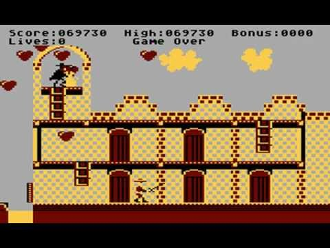 Zorro Playthrough (Atari XL/XE)