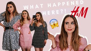H&M TRY ON MINI DRESSES HAUL UNBOXING JUNE/JULY 2020. SIZE XS UK6-8 Petite 5ft2. Sort Of GONE WRONG!