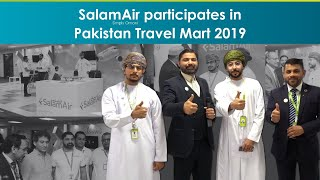 SalamAir Pakistan Team at Pakistan Travel Mart 2019