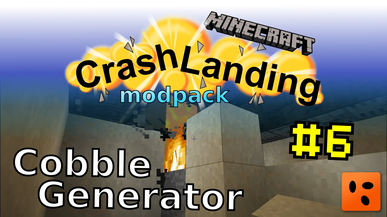 Crash Landing #6 | Cobble Generator