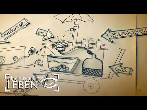 Einfach und günstig selber bauen: Der Party-Bollerwagen (1/2) | Abenteuer Leben