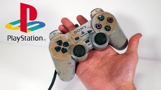 Restoring the original DualShock for my restored PlayStation 1 – Retro Console Restoration & Repair