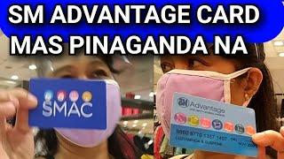 MAGRENEW NA OR KUMUHA NA NG SM  ADVANTAGE CARD (SMAC),MAS PINAGANDA, MAS SULIT ANG POINTS.