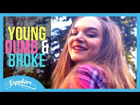 Khalid - Young Dumb & Broke | Cover by Sapphire