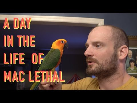 A Day in the Life of Mac Lethal