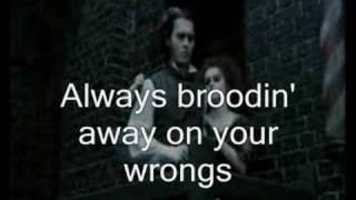 Sweeney Todd - Wait (sing-along+lyrics)
