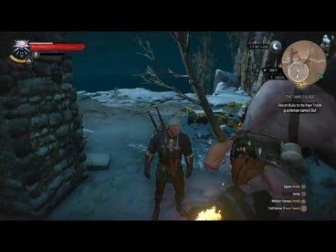 The Witcher 3 - XP Level Up Glitch Exploit - Chort Level 53
