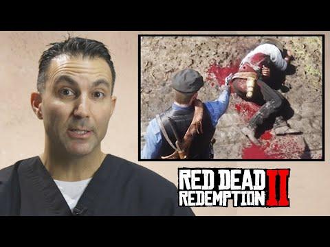 ER Doctor Evaluates Injuries In Red Dead Redemption 2