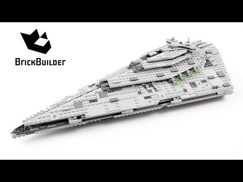 Vidéo LEGO Star Wars 75190 : First Order Star Destroyer