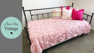 🔴 Bedroom Makeover | Daybed Assembly