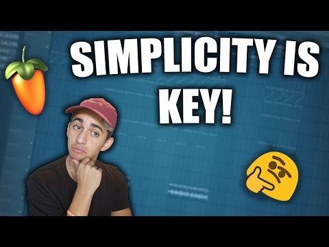 How to Make SIMPLE but FIRE Trap Beats – FL Studio Beatmaking