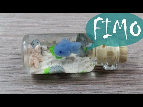 Das Mini Aquarium ~ Fimo / Polymerclay / Tutorial