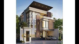 Video Desain Rumah Modern 3 Lantai Bapak Yanuarso di  Jakarta