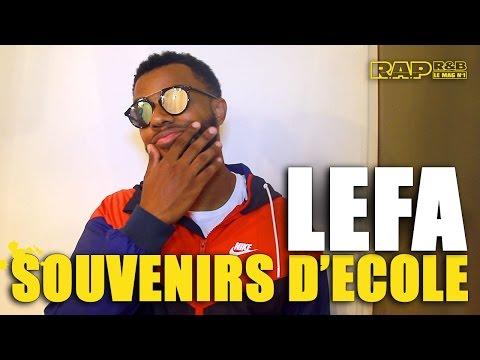 """Video Lefa - Ses souvenirs d'école #12 : """"A partir du collège, les rentrées c'était des cauchemars""""…"""