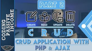 PHP Ajax CRUD Application Tutorial - MySQL & Bootstrap & jQuery DataTables  [Part 2]